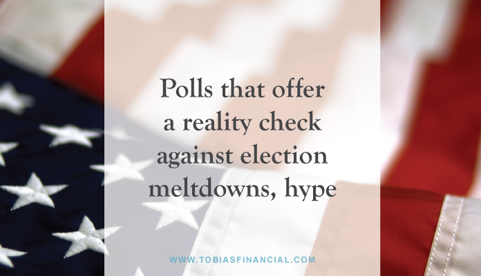 Polls that offer a reality check against election meltdowns, hype