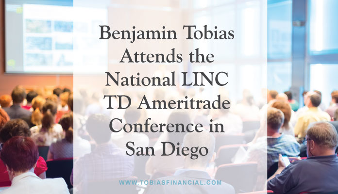 Benjamin Tobias Attends the National LINC TD Ameritrade 2017 Conference in San Diego