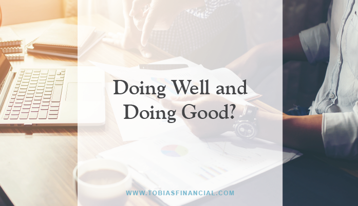Doing Well and Doing Good?