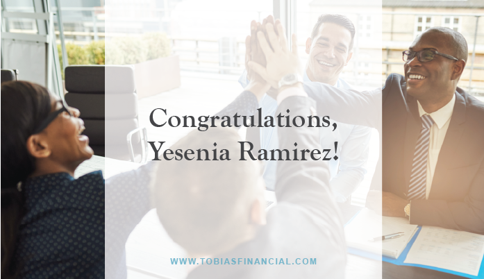 Yesenia Ramirez Passed The CFP® Examination