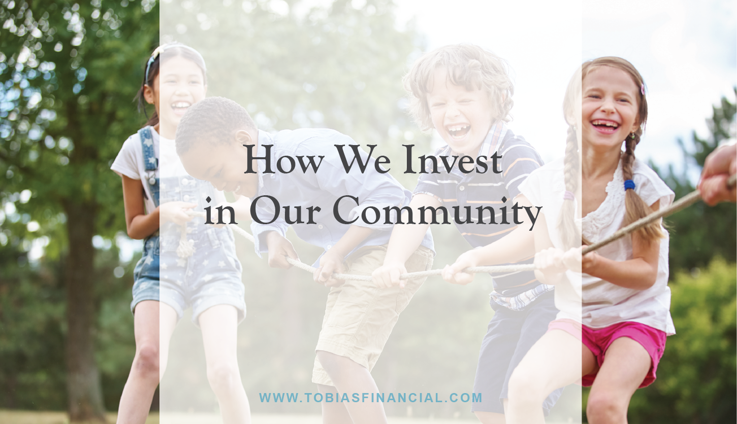 How We Invest in Our Community