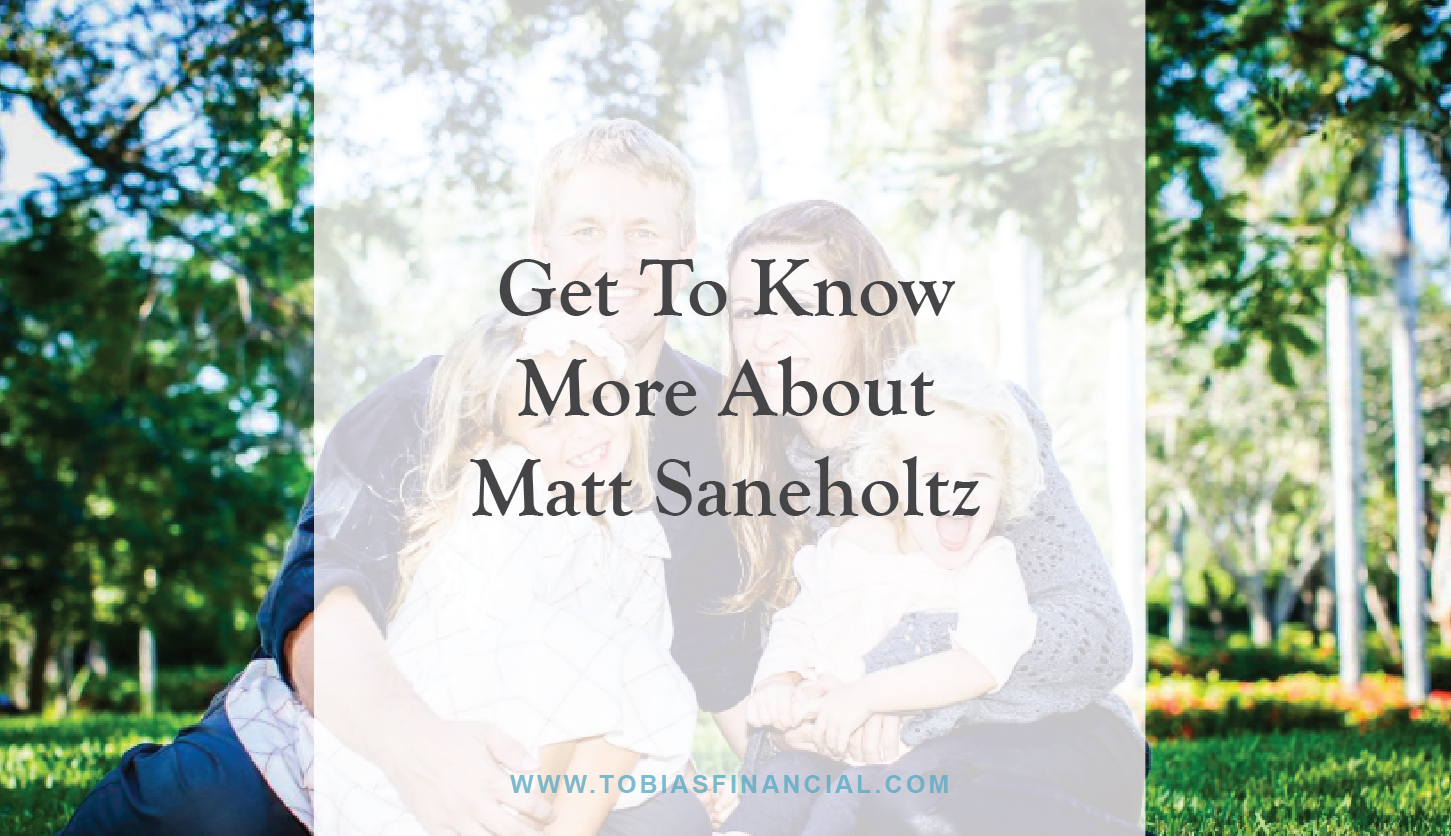 Get To Know More About Matt Saneholtz