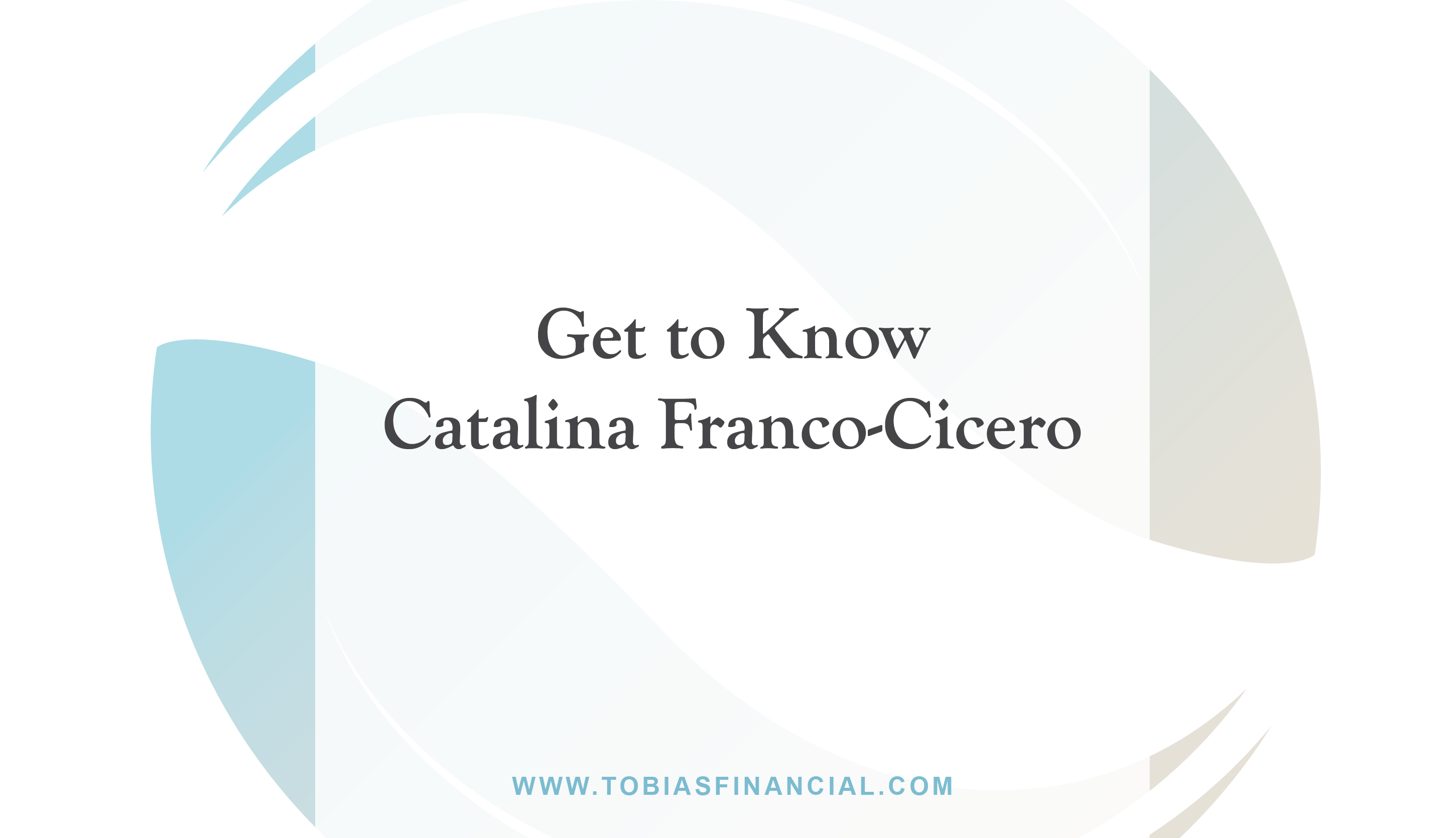 Get to Know Catalina Franco-Cicero