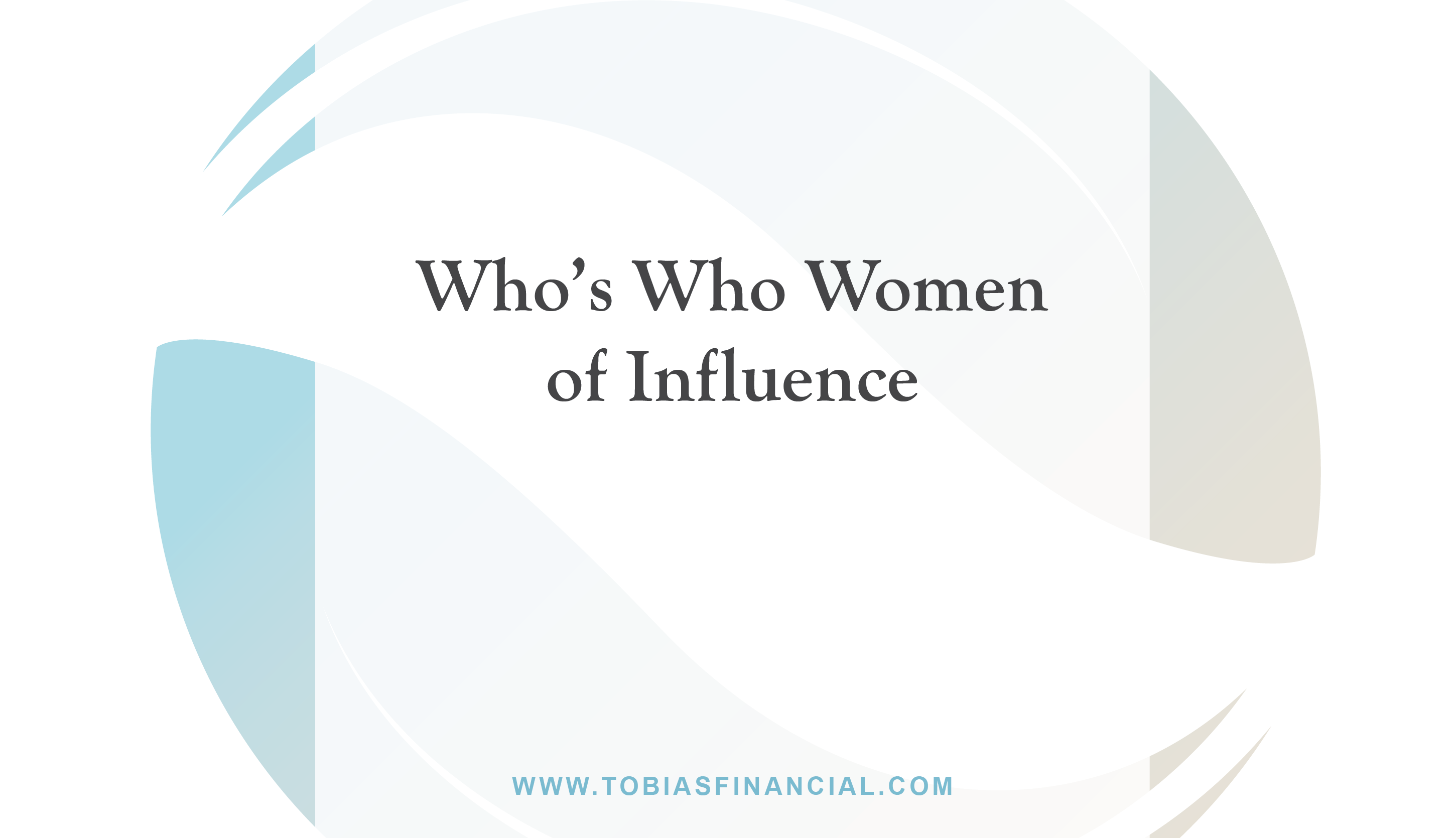 Who's Who Women of Influence