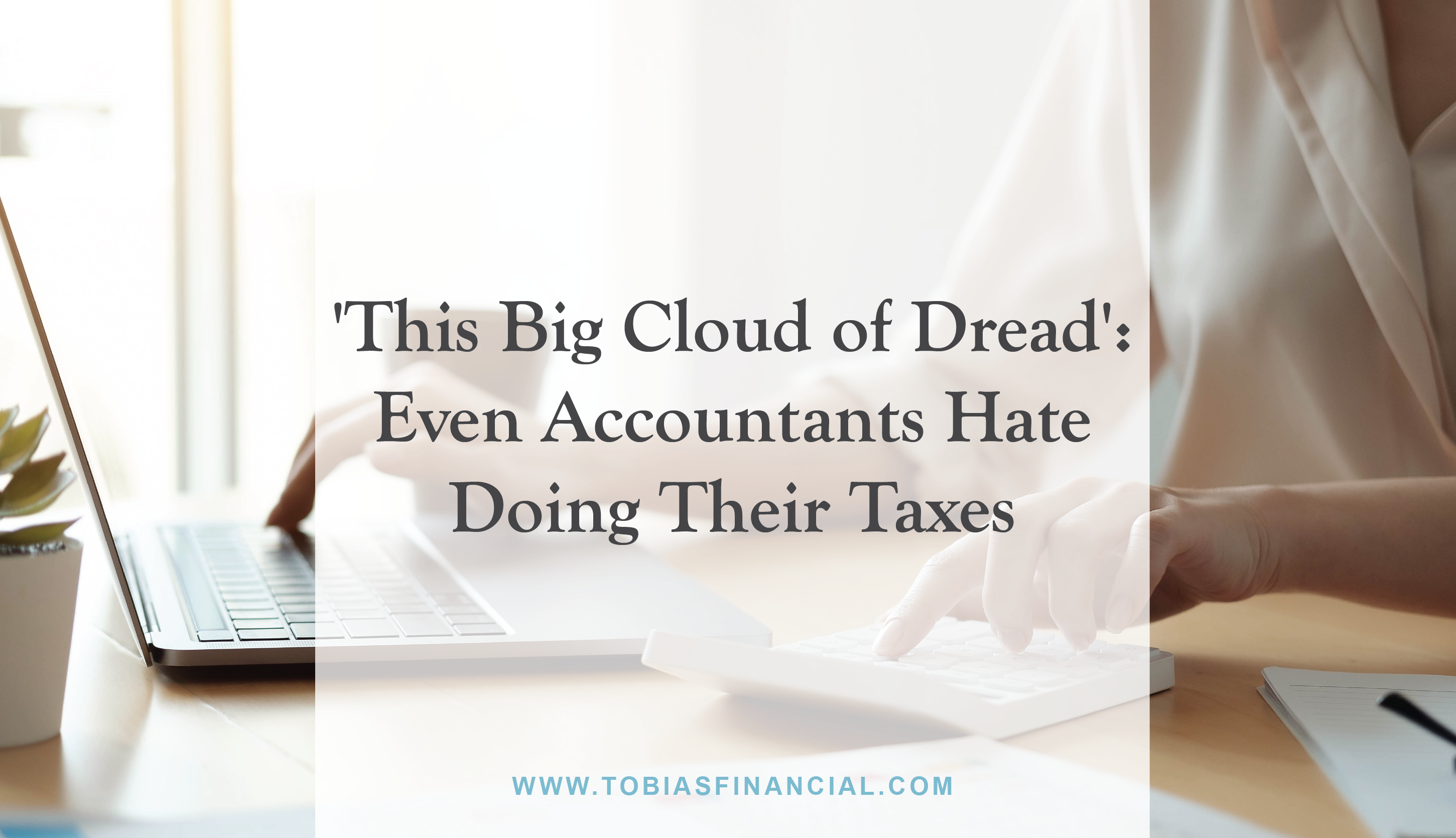 'This Big Cloud of Dread': Even Accountants Hate Doing Their Taxes