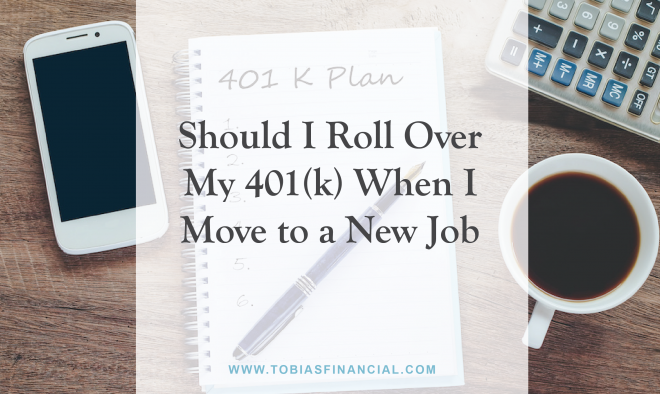 Should I Roll Over My 401(k) When I Move to a New Job