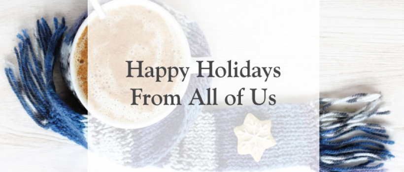 Happy Holidays From All of Us