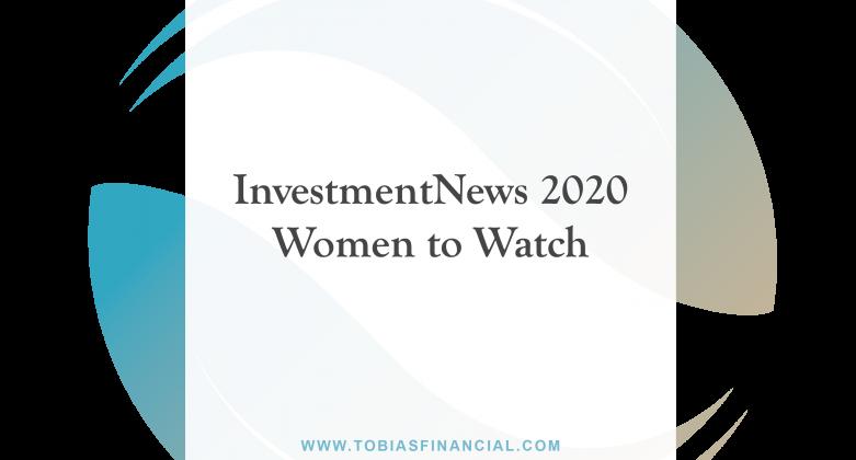 InvestmentNews 2020 Women to Watch