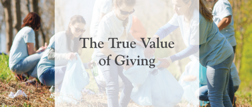 The True Value of Giving